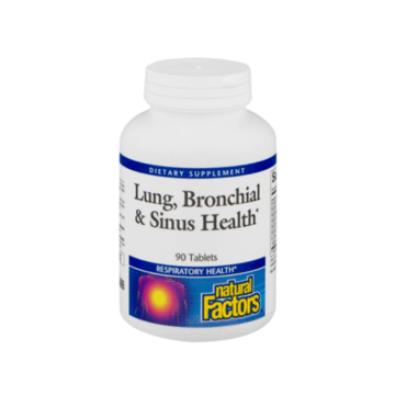 Lung, Bronchial, Sinus Health by Natural Factors 45 tabs