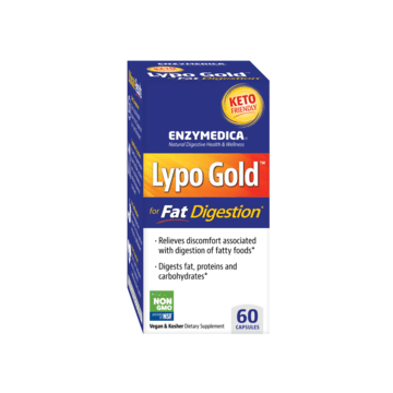 Lypo Gold 60ct by Enzymedica