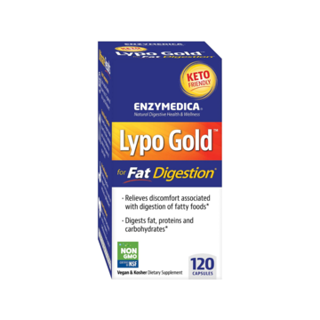 Lypo Gold 120ct by Enzymedica