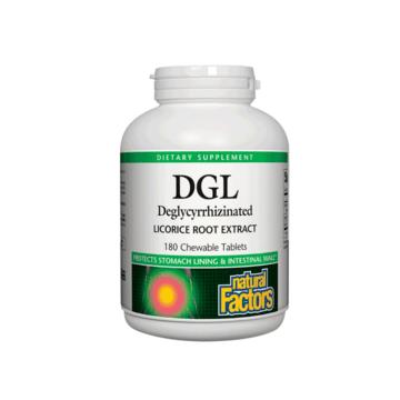 DGL 400mg by Natural Factors