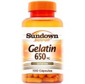 Gelatina Colágeno Hidrolisado 100 cápsulas Sundown