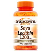 Lecitina de Soja 1200mg 100 cápsulas Sundown