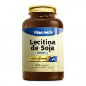 Lecitina de Soja 1000mg 120 cápsulas Vitamin Life