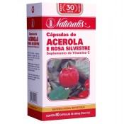 Acerola 80 cápsulas Naturalis