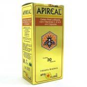 Apireal Geléia Real Liofilizada 30 cápsulas Apis Flora