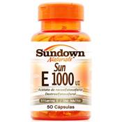 Vitamin E 1000ui 50 cápsulas Sundown