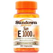 Vitamin E 1000ui 30 cápsulas Sundown