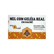 Mel com Geléia Real 36 sachês Apis Flora