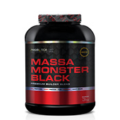 Massa Monster Black 3kg Probiótica