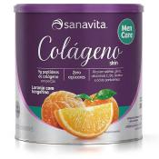 Colágeno Men Care 300g Sanavita - Laranja e Tangerina
