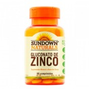 Gluconato de Zinco 90 cápsulas Sundown