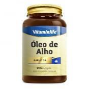 Óleo de Alho Garlic Oil 120 cápsulas Vitamin Life