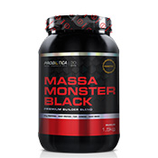 Massa Monster Black 1500g Probiótica