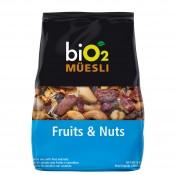 Bio2 Muesli 250g Frutas e Castanha Organic