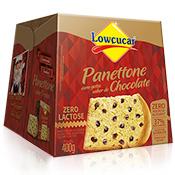 Panettone com Gotas de Chocolate Zero adição de açúcar 400g Lowçucar