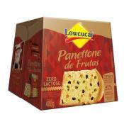Panettone com Frutas Zero adição de açúcar 400g Lowçucar