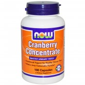 Cranberry Concentrate 100 cápsulas Now