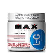 Glutamina L-G 150g Max Titanium