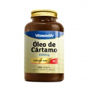 Óleo de Cártamo 1000mg 120 softgels Vitamin Life