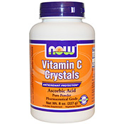 Vitamin C Crystals 227g Now