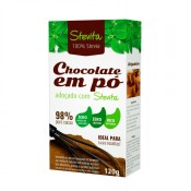 Chocolate em Pó Diet Stevita 120 g Stevia Soul