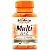 Multi A-Z Complexo Vitaminico 60 Cápsulas Sundown