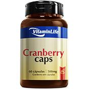 Cranberry Caps 500mg 60 Cápsulas Vitamin Life