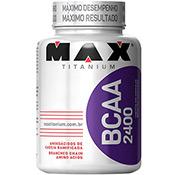 BCAA 2400 com 200 Cápsulas Max Titanium