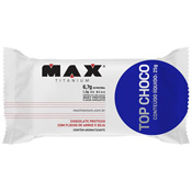 Top Choco Meio Amargo 25g Max Titanium