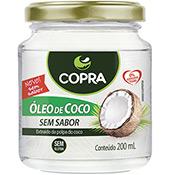 Óleo de Coco Extra Virgem Sem Sabor 200ml Copra