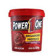 Pasta de Amendoim Brigadeiro Proteico 500g Power 1 One