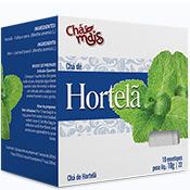 Chá 10 sachês com 10g Chá Mais - Hortelã