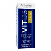 Vit D3 4800UI 60ml Atlhetica Nutrition
