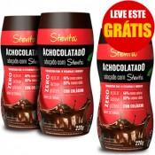 Kit Achocolatado Diet Stevita 220g Cada - Leve 3 Pague 2