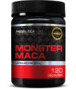 Monster Maca 120 Cápsulas Probiótica