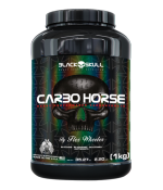 Carbo Horse 1Kg Black Skull
