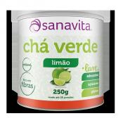 Chá Verde Livre 200g Sanavita Limão