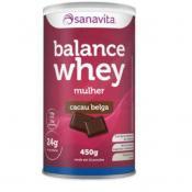Balance Whey Mulher 450 Sanavita