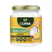 Óleo de Coco Extra Virgem sabor Laranja 200ml Copra