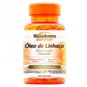 Flaxseed Oil 1000mg 60 cápsulas Sundown