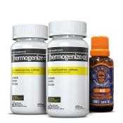 Kit 2 Thermogenize®420 + 1 Óleo Lunix Grátis para Barba ou Bigode