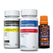 TestoPro® 500 + Thermogenize® 420 + 1 Óleo Lunix Grátis para Barba ou Bigode