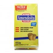Paçoca Zero Açúcar 24 Unidades 18g Amendoita