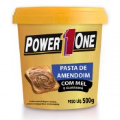 Pasta de Amendoim com Mel 500g Power 1 One