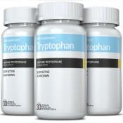 Kit 3 Tryptophan 190mg (L-Triptofano) 30 Cápsulas Inove Nutrition