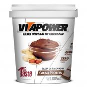 Pasta Integral de Amendoim 1,005Kg Vita Power - Cacau Protein