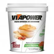 Pasta Integral de Amendoim 1,005Kg Vita Power - Coco Protein