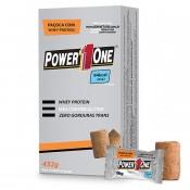 Paçoca com Whey Protein 432g (cx c/ 24 un) Power 1 One