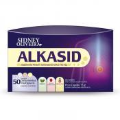 Alkasid 750mg Sabores Sortidos 50 Comprimidos Mastigáveis - Sidney Oliveira