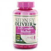 A-Z Mulher - Sidney Oliveira Mulheres Ativas Leve 240 Pague 180 Cápsulas